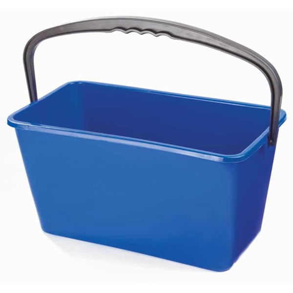 Blue Oblong Bucket Image