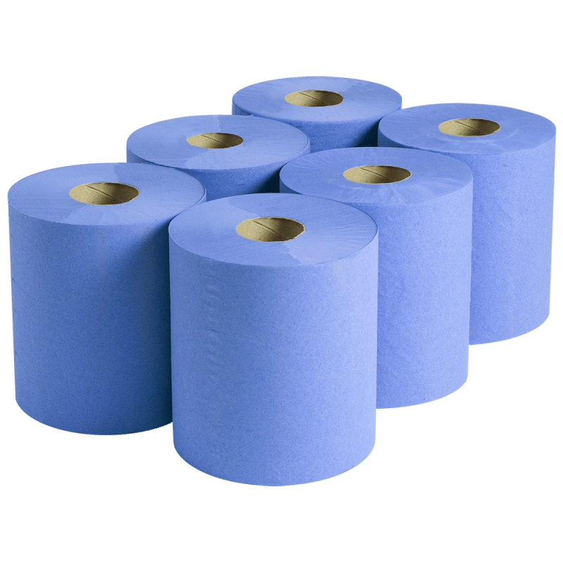 Centre Feed Roll Blue 2ply (CFE02) Image