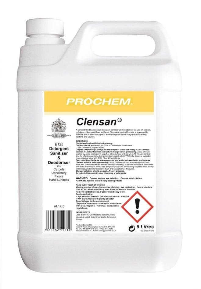 Clensan 5L (B125) Image