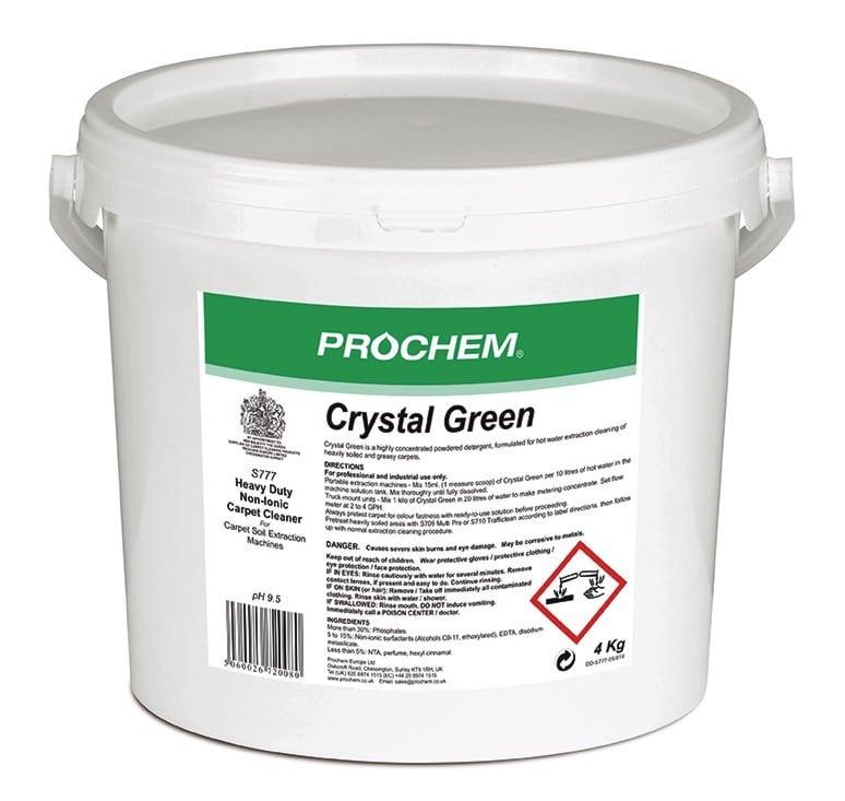 Crystal Green - 4 Kilo (S777/4) Image