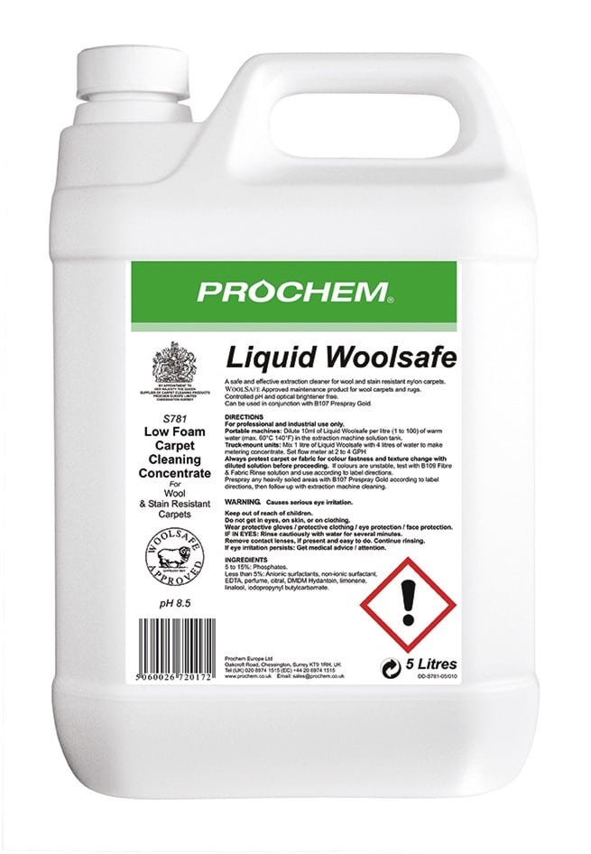 Liquid Woolsafe - 5 Litre (S781) Image
