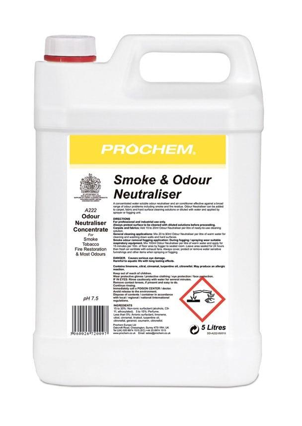Smoke & Odour Neutraliser 5L (A222) Image