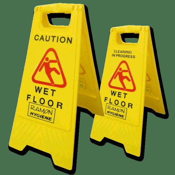 Wet Floor Signs Image