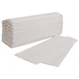 C/Fold Hand Towels White 2ply Image