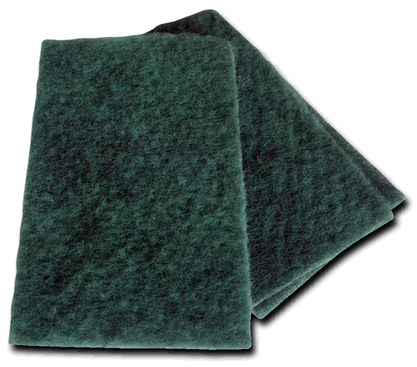 Green Hand Pad Scourers Image