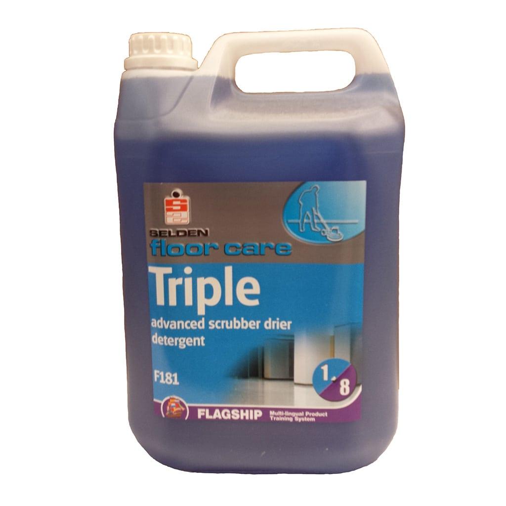 Triple Scrubber Drier 5L -F181 Image