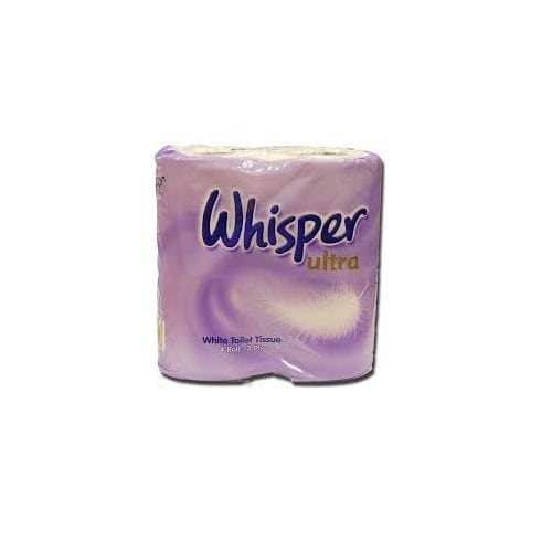 Whisper Soft Toilet Roll Ultra 3ply (40) (WHI01) Image